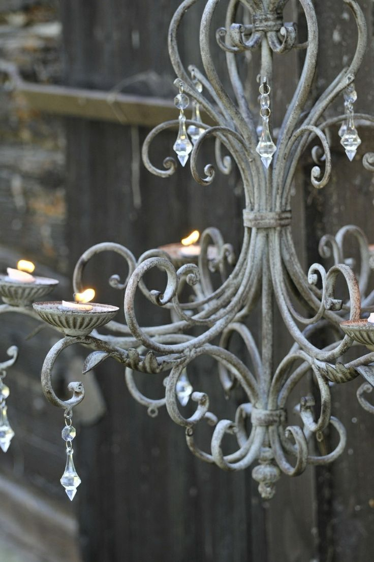 146 best chandeliers images on pinterest chandeliers antique beautiful candle chandelier in french grey arubaitofo Gallery