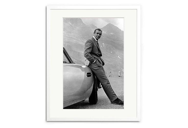 Sean Connery as James Bond, 1964   One Kings Lane