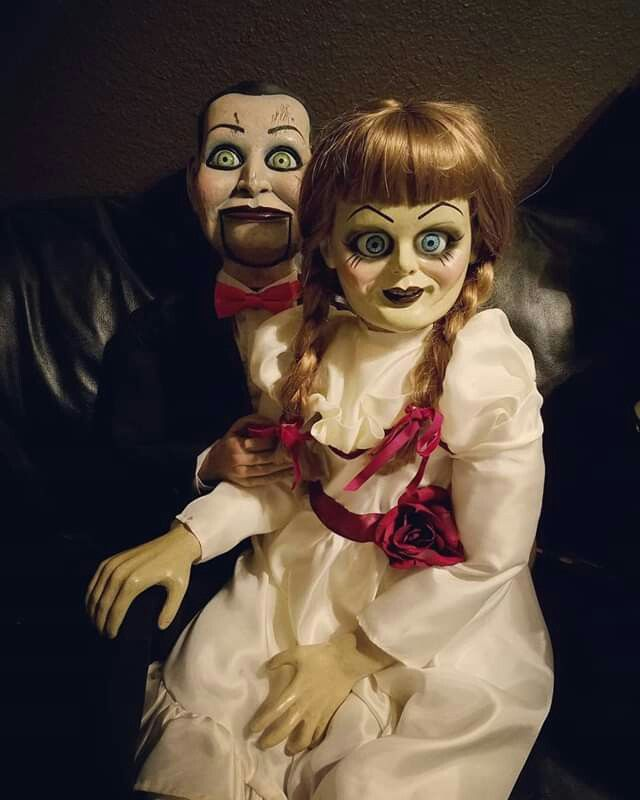Annabelle X Billy Horror Movie Art Horror Movie Characters Scary Movies