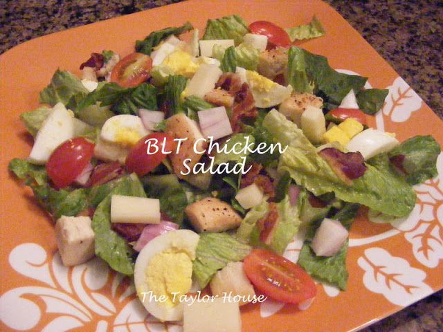 BLT Chicken Salad - The Taylor House