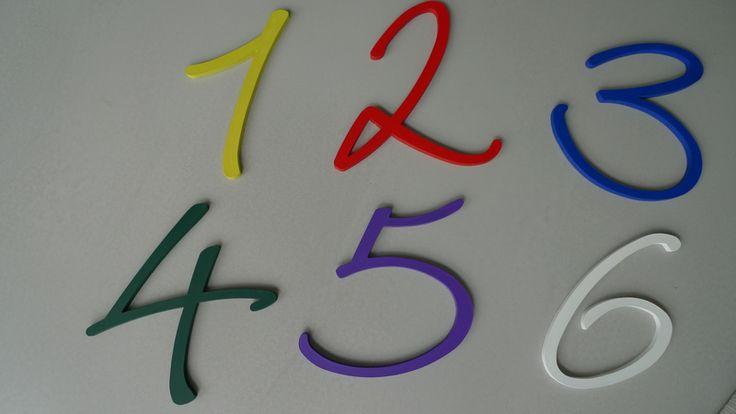 Zahl, Nummer, Ziffer zum Selbstgestalten von PAULSBECK Buchstaben, Dekoration & Geschenke auf DaWanda.com