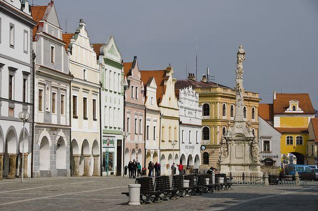 In Třeboň, Czech Republic.