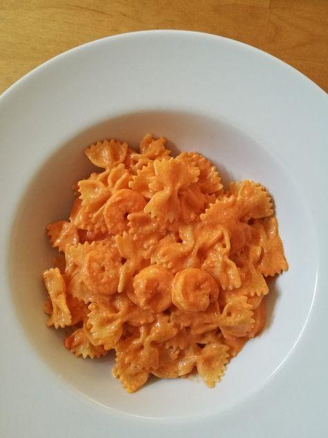 Pasta mit Knoblauch - Tomaten - Shrimps, ein raffiniertes Rezept aus der Kategorie Krustentier & Muscheln. Bewertungen: 84. Durchschnitt: Ø 4,5.