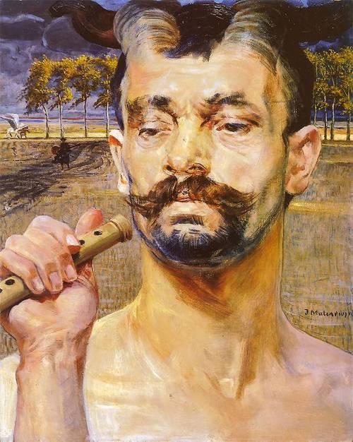 Faun -  Jacek Malczewski  1906