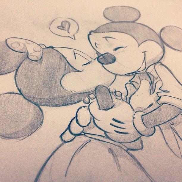 cute disney love drawings - Google Search