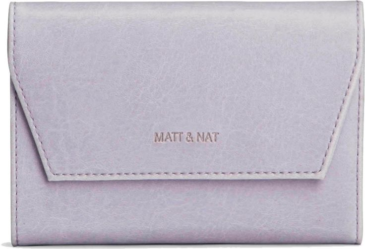 Do you prefer a more diminutive sized wallet? If that's the case, you will love the small Matt and Nat Vera. It's a smaller, more compact wallet than its larger counterpart, designed for when you just