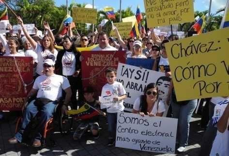 Ciudadanos Americanos-Venezolanos Piden la Reapertura del Consulado Venezolano en Miami
