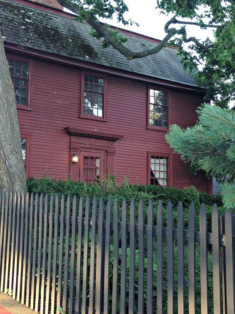 Monochromatic exterior house paint | Colonial House | Pinterest ...