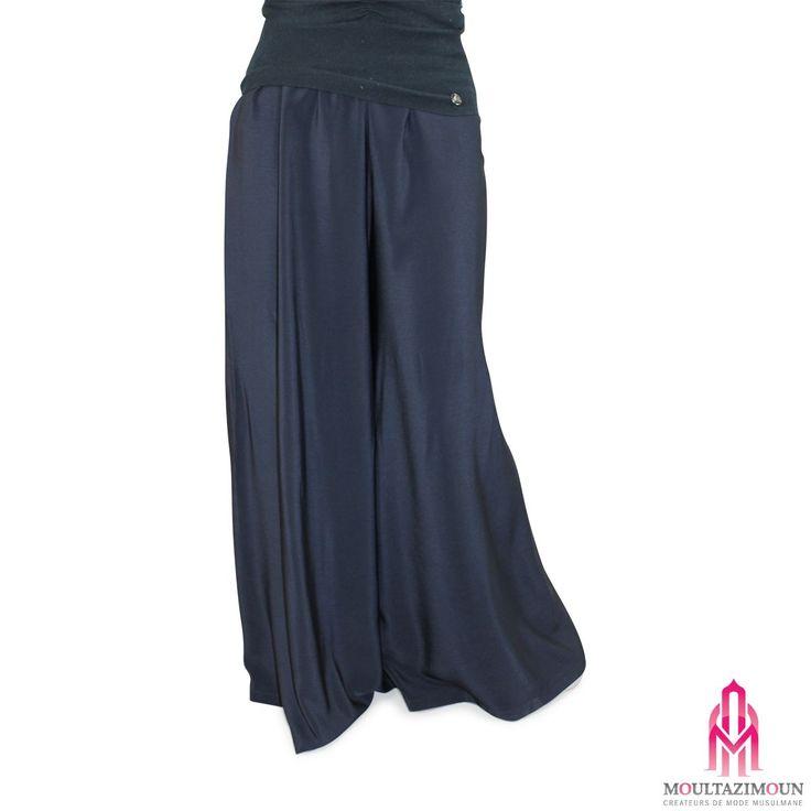 Panta-Jupe avec long khimar Al Moultazimoun #harempants #sarouel #muslim pant #jilbab #best #abaya #modestfashion #modestwear #muslimwear #jilbabi #outfit #hijabi #hijabista #long #dress #mode #musulmane