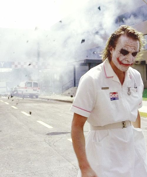The Dark Knight. sometimes this is hard for me to watch.
