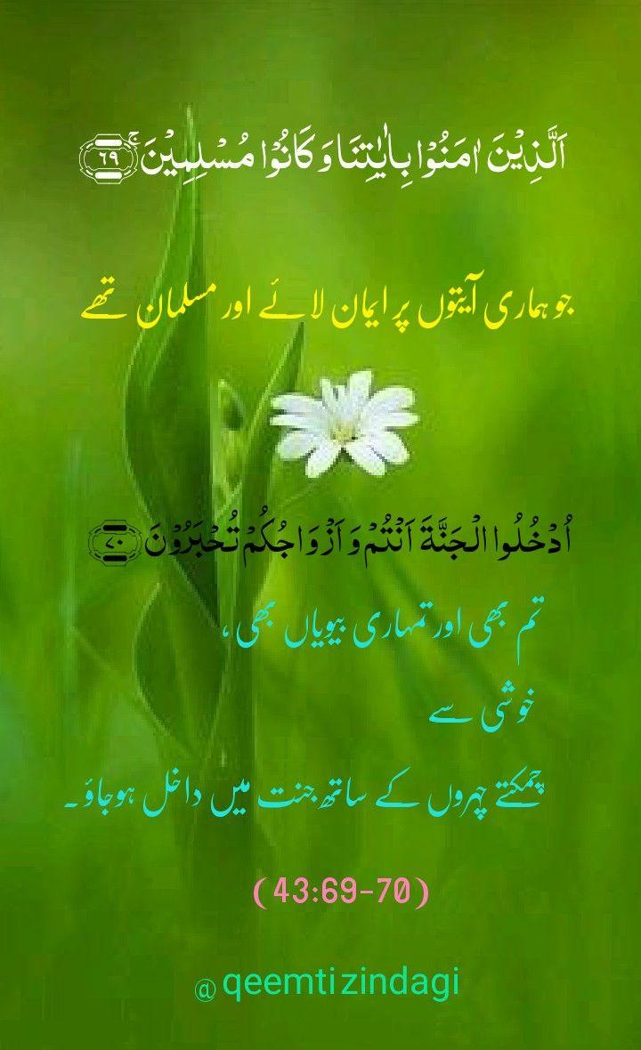 Qurani Ayat With Urdu Translation Quran Verses Quran Quotes Verses Quran Quotes