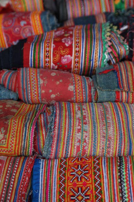Ethnic hmong textiles - Vietnam