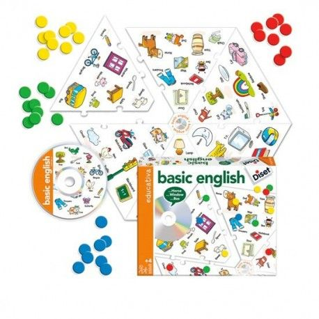 BASIC ENGLISH CON CD DISET RAYUELAINFANCIA