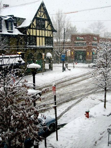 Germantown Avenue in Chestnut Hill