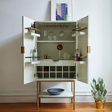Graphic Bar Cabinet #westelm