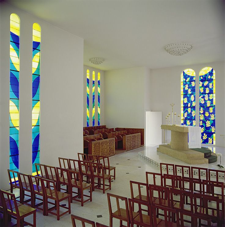 Chapel of the Rosary of the Dominicans at Vence/Henri Matisse