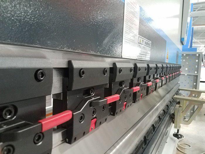 MB8 3+1 axis CNC Hydraulic Servo Press Brake Machine -DELEM DA52S-4