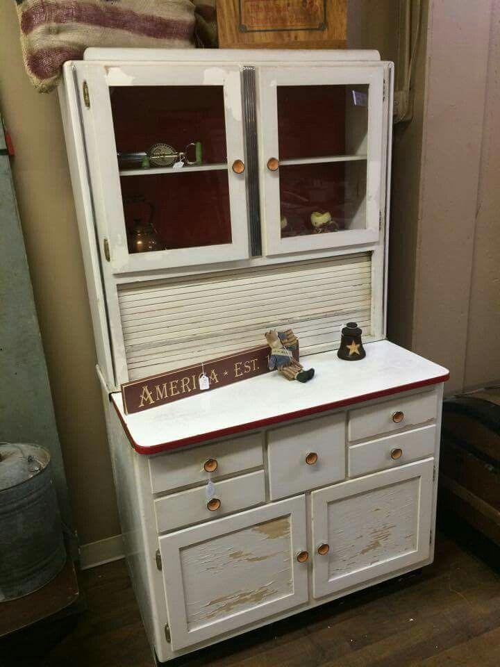 550 best Hoosier Cabinets images on Pinterest | Kitchen cabinets ...