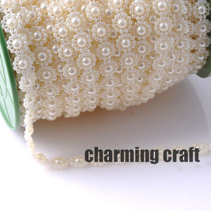 Cheap decor, Buy Directly from China Suppliers:Fishing Line Artificial Pearls Flower Beads Chain Garland Flowers DIY Wedding Party Decoration Products Supply 5 Meters