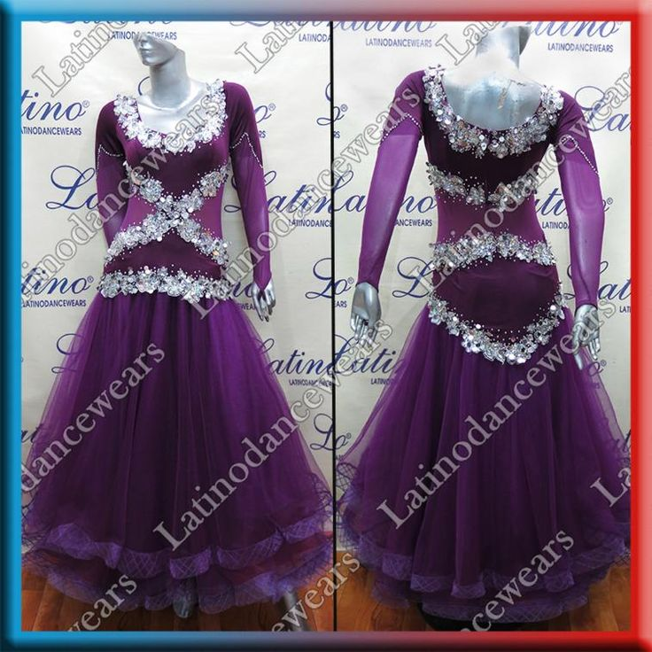 BALLROOM COMPETITION DRESS LDW (ST188B) BALLROOM-COMPETITION-DRESS-LDW-ST188B Latino Dancewears