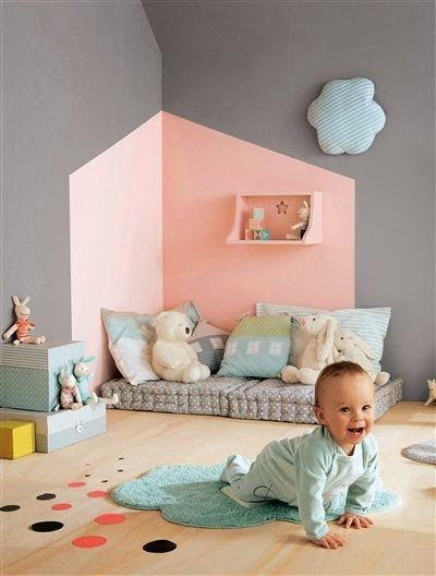 montessori-style bedroom Decoração para os pequenos: quarto montessoriano