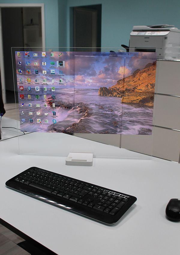 Transparent high-tech screen disappears when not in use – DesignTAXI.com – #Screen #DesignTAXI #DesignTAXIcom #er