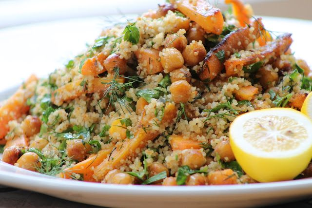 Couscous With Carrot And Cilantro Recipe — Dishmaps