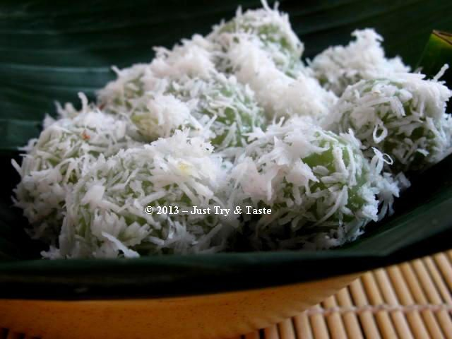 Just Try & Taste: Klepon