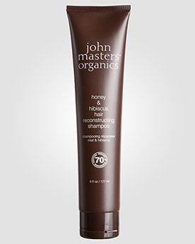 John Masters Organics Шампунь «Мед и гибискус» для восстановления волос Honey and Hibiscus Hair Reconstructing. 177 мл.