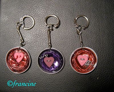 Francine bricole les porte clefs avec les capsules for Porte capsules nespresso mural
