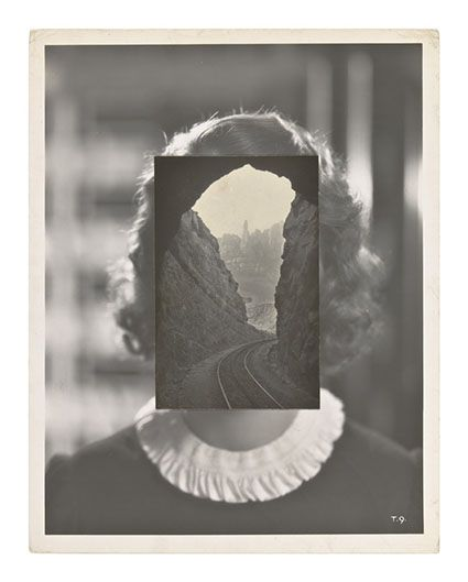 John Stezaker - Mask LXV  - The Approach