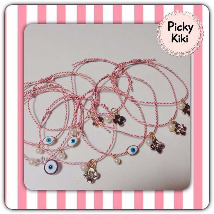 Traditional March bracelets to protect you!