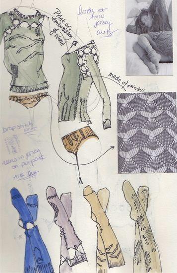 Rebecca Morack's Portfolio - Process