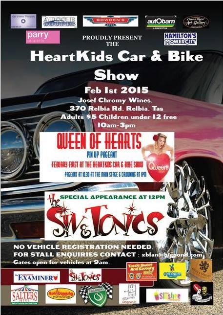 Heart Kids Car & Bike Show - Sunday 1st February 2015