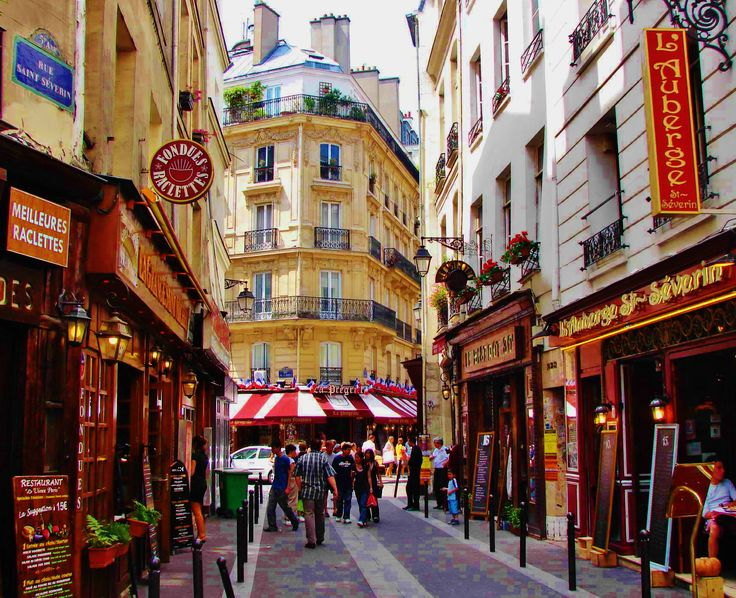 Quartier Latin, Paris. Perfect location. Both times i went that's where we stayed. Tres Vivant.