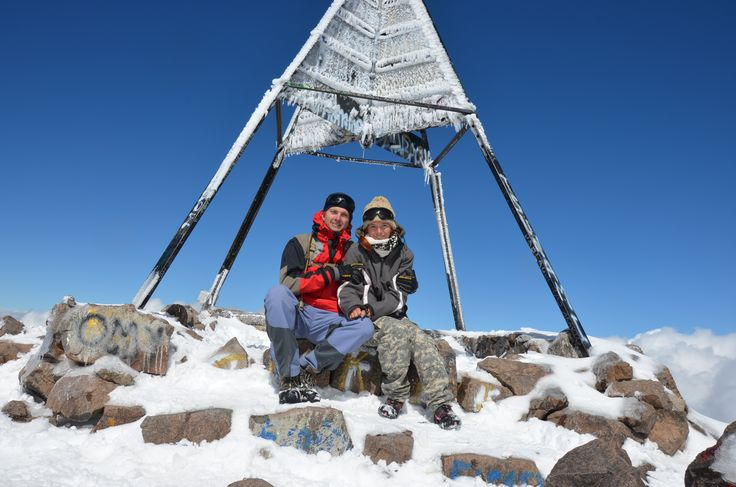 Jebel Toubkal 4167 m.n.m