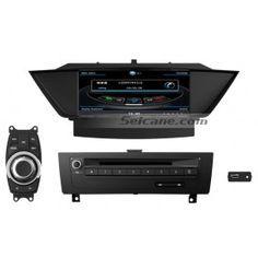 9 pouces HD Ecran tactile DVD radio système de navigation GPS pour 2009-2013 BMW X1 E84 sDrive xDrive 18i 20i 25i 28i 16d 18d 20d 23d 25d WIFI 3G BT IPOD Caméra