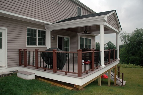 Custom Patio Roofs Deck The Yards Pittsburgh Pa