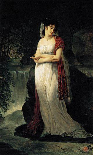 Christine Boyer, 1800, pittura a olio, Louvre, Francia