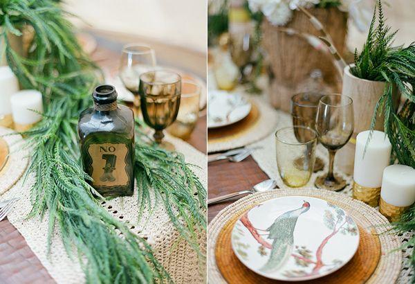 safari wedding inspiration // - photo by Clayton Austin - view more: http://ruffledblog.com/southwestern-desert-wedding-ideas