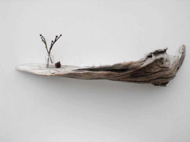 Mensole Design: Ecco 11 mensole realizzate con rami e tronchetti!