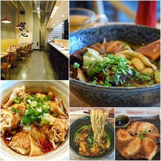 #FoodieFriday - Brand new #Chinese restaurant, not even open a month! Check out @shangartisannoodle - A cool, compact spot with an open kitchen serving hand-pulled noodles & Chinese small plates. Photo Credit: @thevegasrebel @vegasfoodbaron @vegasdining @