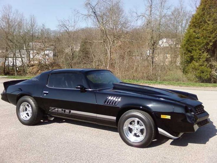 Black 1979 Z28 Camaro 454 Big Block Cars Bikes Trucks