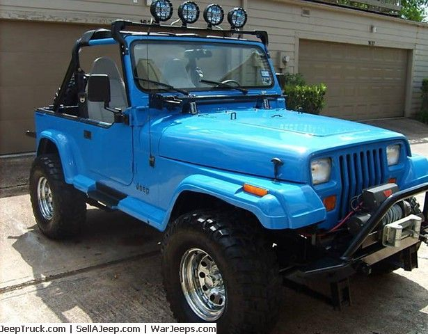 Jeeps For Sale and Jeep Parts For Sale - 1989 JEEP WRANGLER ISLANDER 4x4
