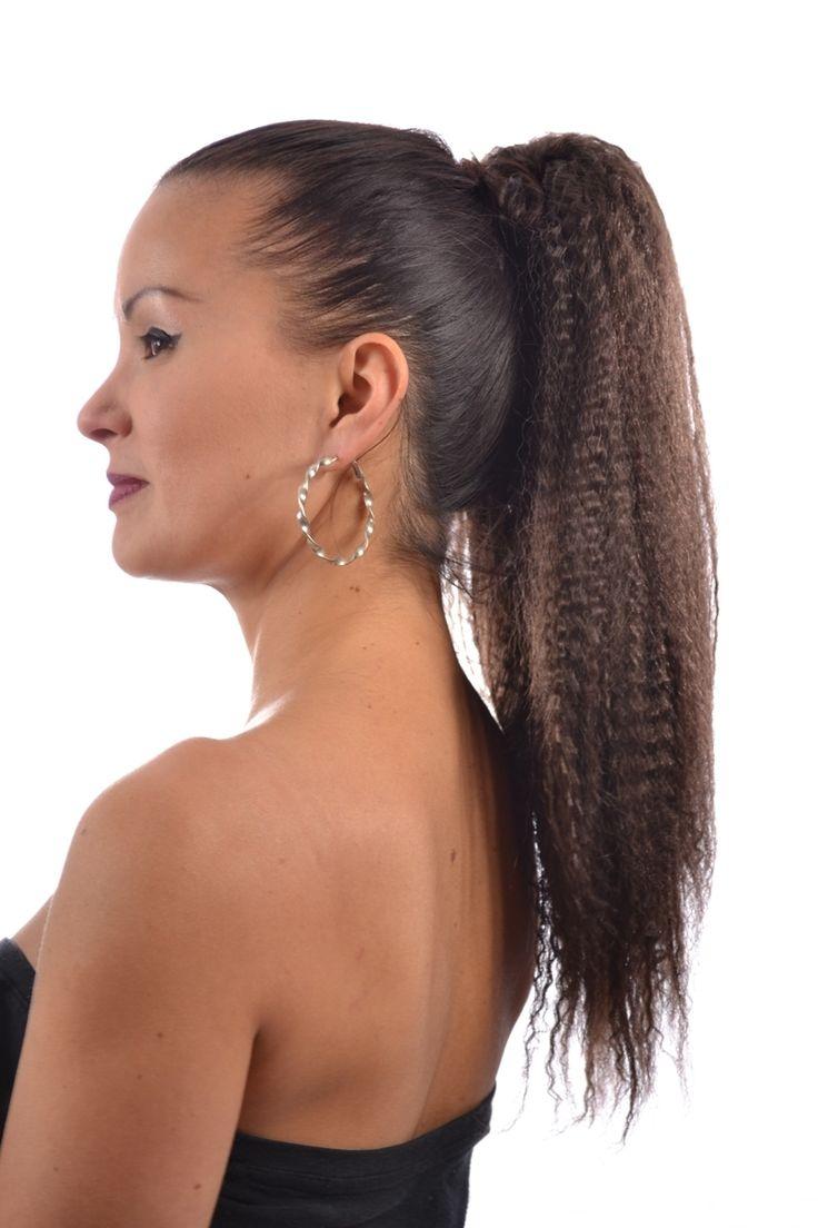 Pony Crimp Drawstring Ponytail Hairpiece  16 Shades