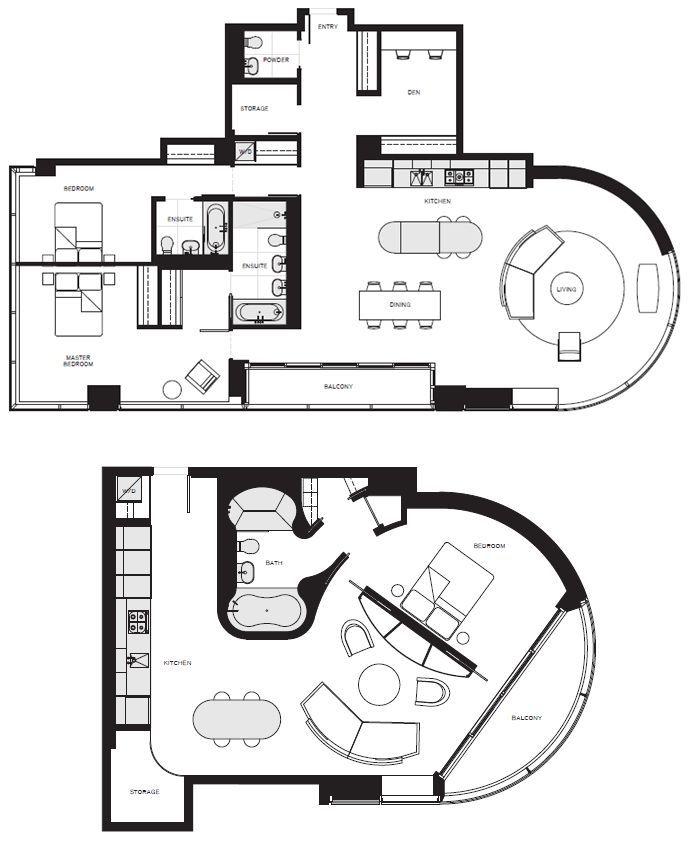 Unique Florida Condo Floor Plans - Google Search