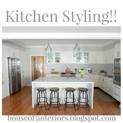 Alicia On A Sunny Day: Kitchen Styling!