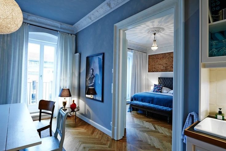 NICE FOR A NIGHT| One of Gorki Apartments' cozy, modern rental flats.