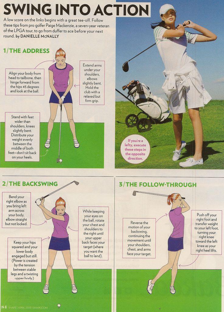 best golf swing instruction