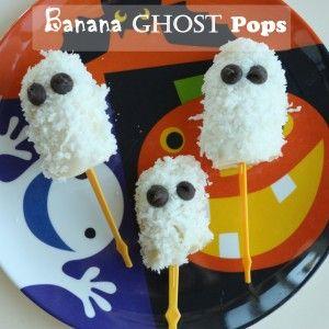 Banana Ghost Pops-Super Healthy Kids